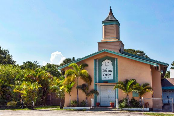 Denne vesle moskeen i Florida har kun noen titall faste besøkende. To av dem ble massemordere.
