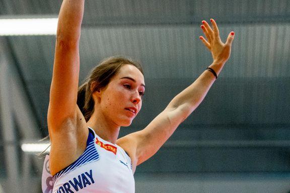 Satte ny norsk rekord i EM på hjemmebane