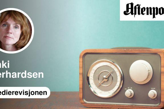 NRKs distriktssendinger på radio er tomhet satt i system