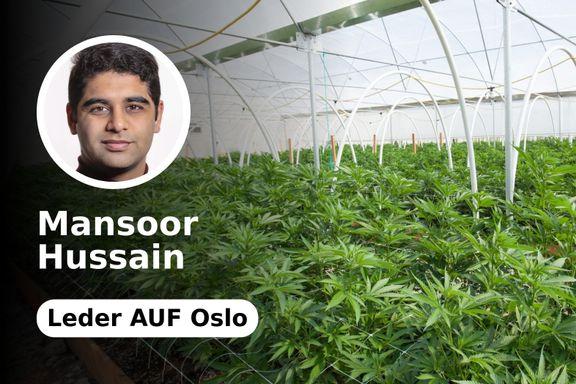 Norge må være et foregangsland i å legalisere og regulere cannabis