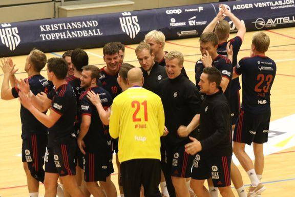 Kristiansand med ny cupbragd - slo ut eliteserielag