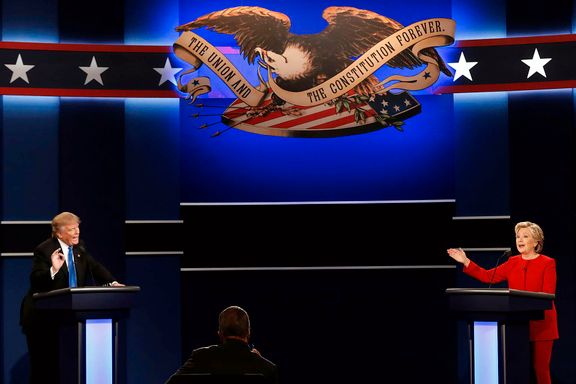 Rådgivernes bønn til Trump før neste debatt: Øv, øv og øv