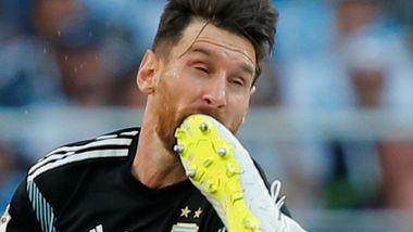 Island er et lag bygget av menn. Da blir selv Messi liten.