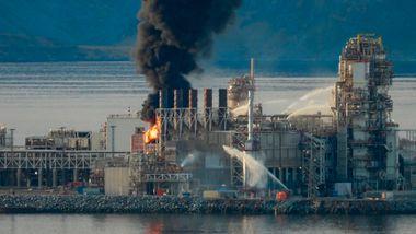 Equinors gassanlegg på Melkøya blir stengt i inntil ett år etter storbrann