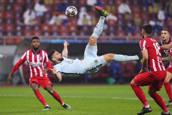 Brassespark fra Giroud senket Atlético Madrid