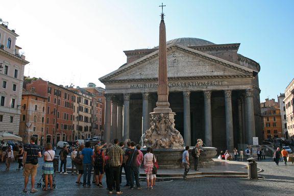 Har du stått her og lurt på om romerne var gærne?