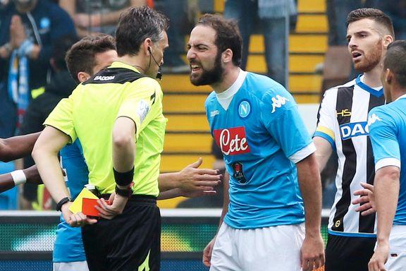 Higuaín mistet hodet da Napoli snublet i gullkampen