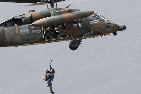 Kvinne falt i døden da helikopteret forsøkte å redde henne