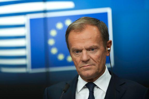 Tusk foreslår ett års fleksibel brexit-utsettelse