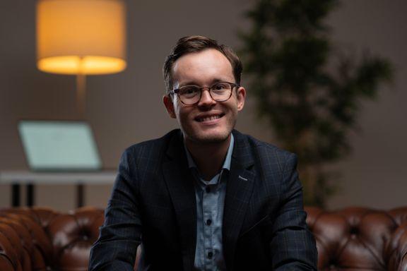 Endre Olsvik Elvestad (30) er en av Europas mest talentfulle gründere