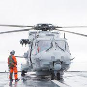 Ber Stortinget skrote kystvakt-helikoptrene