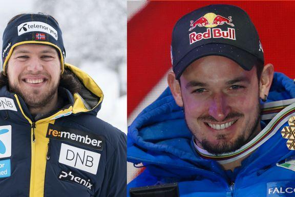 VM-debutanten får uventet hjelp – låner verdensmesterens ski