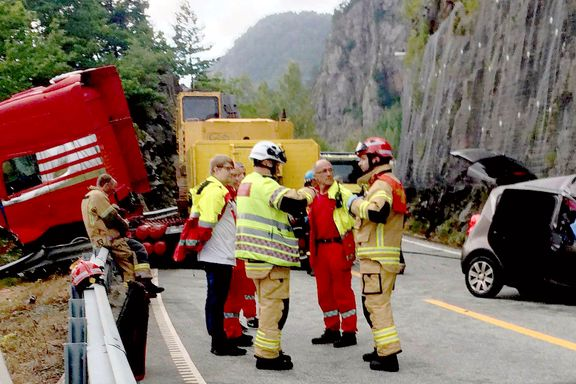 To omkom i trafikkulykke på E39
