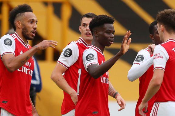Arsenal holder liv i Europa-drømmen: Stortalent feiret ny kontrakt med mål