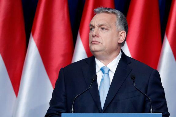 Ungarns statsminister blir suspendert fra Europas konservative partifamilie