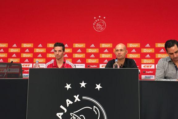 Ajax-sjefen lot seg imponere av Bendtners perlescoring