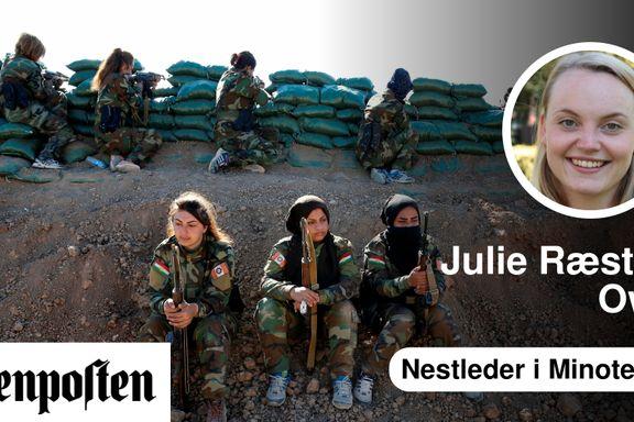 Mediene gir kvinnelige fremmedkrigere i IS en offerrolle | Julie Ræstad Owe