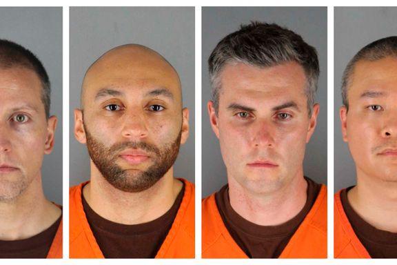Politimenn siktet for Floyd-drap møtte i retten