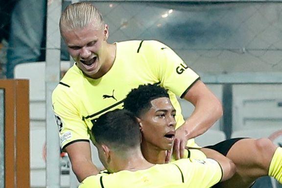 Haaland matchvinner da Dortmund tok viktig borteseier