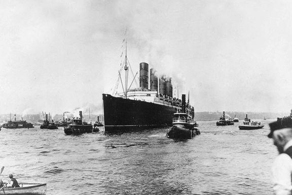 Krim-bloggen: «Lusitania»s siste reise - thriller fra virkeligheten