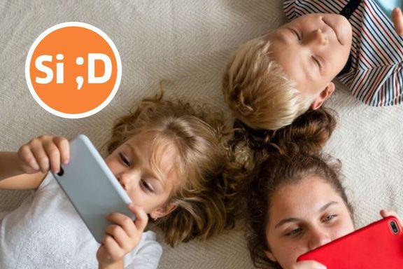 Tiåringer ser på en skjerm i stedet for hverandre. Hvordan skal det gå med oss?