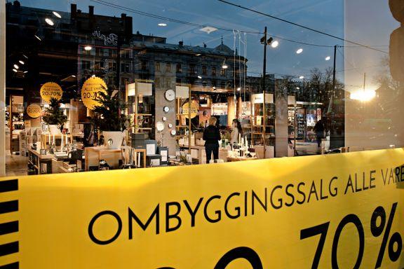 GlasMagasinet bytter innhold - ut med norske glass og fat, inn med dansk design