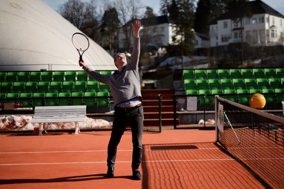 Betent tenniskrangel i et av landets mest fornemme strøk:  – Jeg synes det er trist