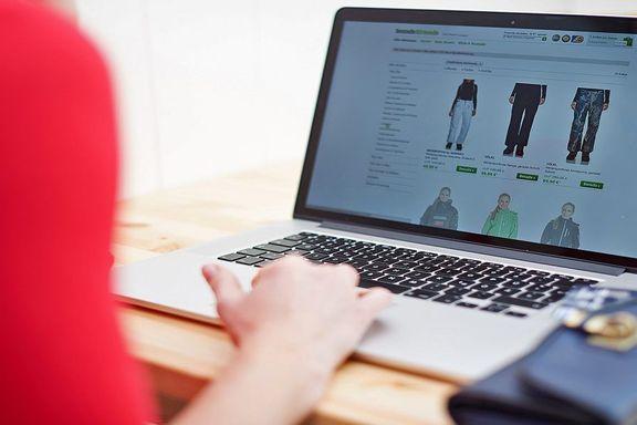 Shopper hjemmefra, blir svindlet på nett