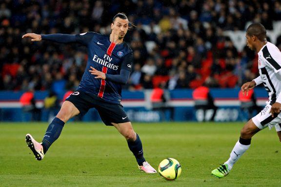 Zlatan i scoringsform da PSG slo Rennes