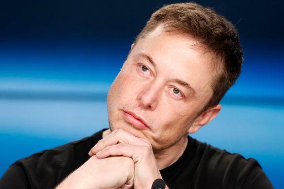 Elon Musk: – Neste år vil selvkjørende biler være mye tryggere enn mennesker