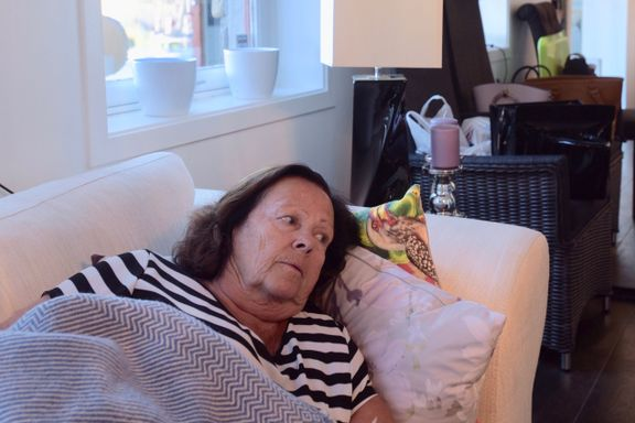 Torhild og svigerdatteren ble innlagt på sykehus: – Jeg har aldri vært så syk