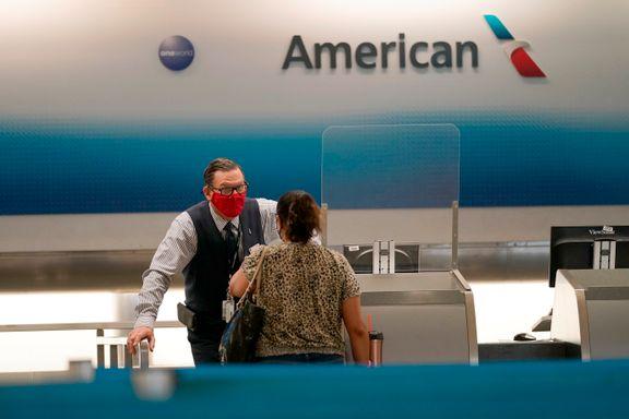 American Airlines varsler at 13.000 kan bli sagt opp