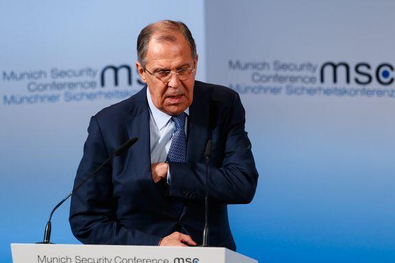 Lavrov mener Stoltenberg er preget av kald krigs tenking