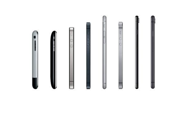 «Ti år med Iphone har forandret alt. Meg inkludert.»