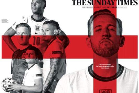 EM-feber i England og Italia: Dette skriver avisene på finaledagen