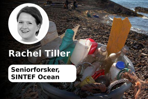 Nei, offshorefartøy kan ikke rense havet for plast | Rachel Tiller