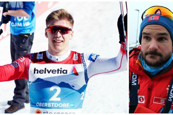 Rørt trener etter Valnes-sølv: – Det er noe helt spesielt med ham
