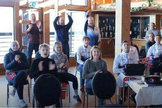 Her jubler Bergens Roklub for Bruns EM-gull