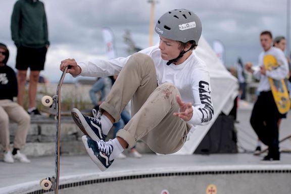 Lokalt stortalent blir historisk - tatt ut på Norges første skateboardlandslag