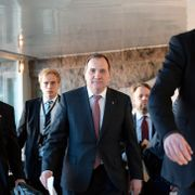 Stefan Löfven vil ha Vänsterpartiets støtte, men tilbyr dem null innflytelse
