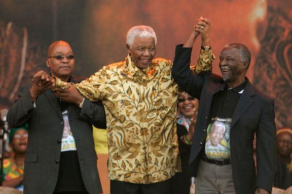 Sammen med Nelson Mandela frigjorde han Sør-Afrika fra apartheid. Nå blir Jacob Zuma avsatt av sine egne.