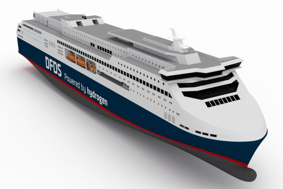 Vil drive danskebåten med hydrogen