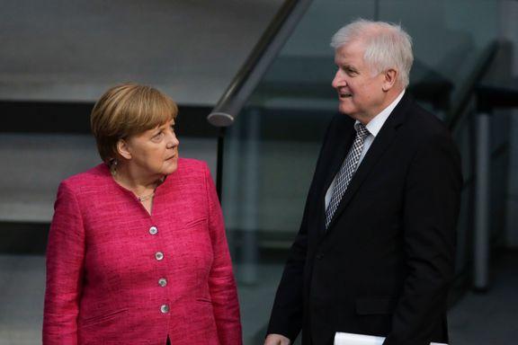 Tyskland trues av regjeringskrise. Krisemøte klokken 17.