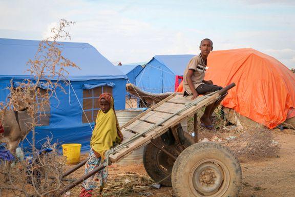 Historisk mange barn er tvunget på flukt. Klimaendringene viktig årsak.