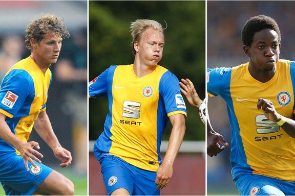 Braunschweig tapte med tre nordmenn på banen