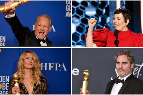 Listen, vinnerne og jubelen: Her er nattens viktigste Golden Globe-vinnere