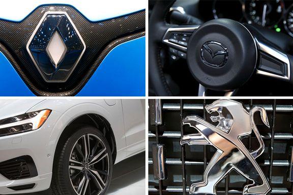 Kjenner du igjen disse fire bilmerkene har du kanskje peiling. Ta testen.