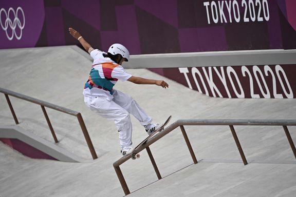 Momiji (13) er yngste OL-vinner siden Lillehammer