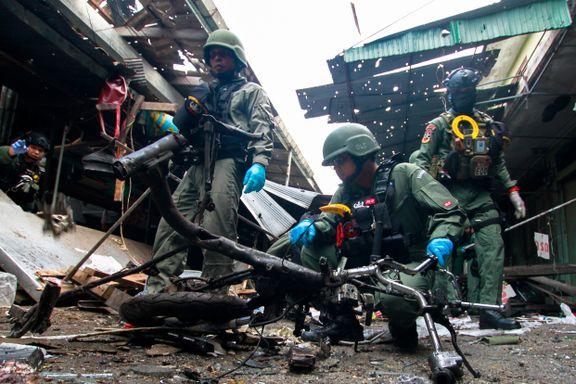 Tre drept i bombeangrep i Thailand