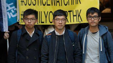 Hongkong-aktivist dømt til tre måneders fengsel